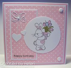 Made by Helen: GDT Card for Cards and More - Spring