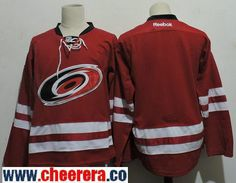 Men s Carolina Hurricanes Blank New Red Home Stitched NHL Reebok Hockey  Jersey 3ad1822fe