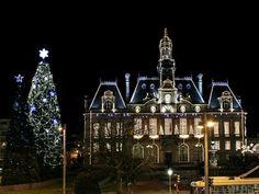 Hotel de Ville a Noël,Limoges, Limousin