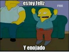 Read 14 from the story Momos para contestar osi osi by with reads. Simpsons Frases, Simpsons Meme, Funny Spanish Memes, Spanish Humor, Meme Faces, Funny Faces, Best Memes, Dankest Memes, Best Friends Funny