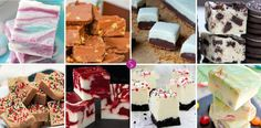 Homemade Fudge Candy Recipes: Fudge is the perfect treat to wrap up and give to loved ones this Christmas, or serve it at your next party!