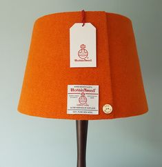 This lovely shape adds a certain contemporary style to the already gorgeous Harris Tweed Lampshade. This lampshade is available in a variety of colours but if you don't see what you're looking for please contact me as I have many Harris Tweeds in stock. Your Harris Tweed lampshade can be made for a table lamp or for the ceiling and has a top diameter of 25cms, a bottom diameter of 35cms and a height of 23cms. This Harris Tweed lampshade is carefully handmade in my workshop in Inverness…