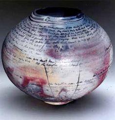 Story Vessels Michael Berkley - Pitfired Pottery