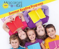 Summer Reading Programs in Evergreen, Bailey and Conifer | Macaroni Kid #mackid #read