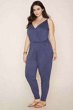 Plus Size Cami Jumpsuit