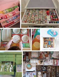 Organized Drawers by Toodleson, via Flickr    the middle one of the kids dishes and things. I have just the drawer for that!!