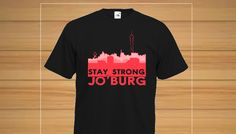 If you're from Johannesburg then this shirt is perfect for you. Let show your Jozi Pride!!!** Limited Time Only, sales ending 16. March. Not available in stores! **Limited Stock! Get Yours Now! Available in many colours and styles!Guaranteed safe and secure checkout via: 3D Secure VISA & MASTERCARDGet yours today for only R150!