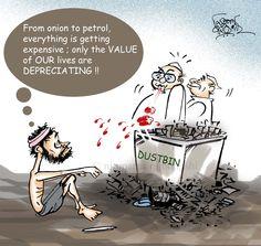 PRICE CHECK !!  cartoon by Nituparna Rajbongshi.