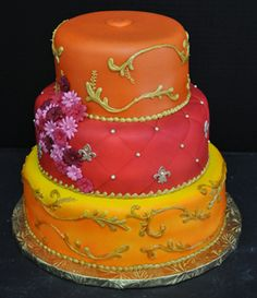 Gâteaux de mariage à plusieurs niveaux