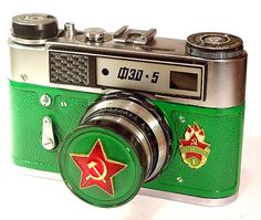 USSR Vintage Red Star FED5 camera Russian LEICA by RussianVintage, $54.00