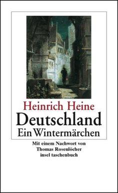 Heinrich Heine, Deutschland, Ein Wintermärchen, I wonder who she was...
