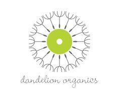 Dandelion Organics Logo on Behance