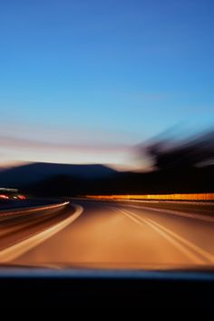 Free stock photo of road, car, blur, driving
