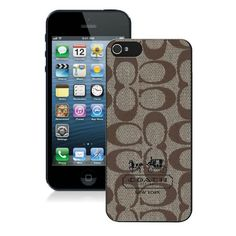 #Coach #FashionBagTime Coach In Signature Beige iPhone 5 5S Cases AIX