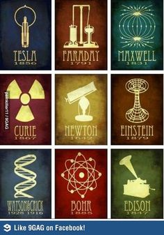 Cool poster. I hope to teach science through it's history!