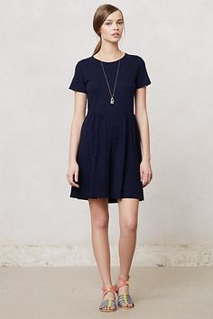 Pleated Lapis Dress #anthropologie  Of course its not available anymore :o/