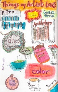 What Cynthia's artist loves illustration Cynthia Morris