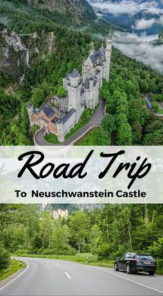 Take a Day Tour to Neuschwanstein Castle Just 1.5 hours from Munich you can find yourself at the foothills of the Alps, wandering a tiny Bavarian village with pretzel in hand. Neuschwanstein, built by the mad King Ludwig II and completed in 1886. It was a respite for the withdrawn King and after being removed from the throne, he only spent 11 nights in hi beloved castle before he was murdered. Click to read more at http://www.divergenttravelers.com/things-to-do-munich-itinerary/