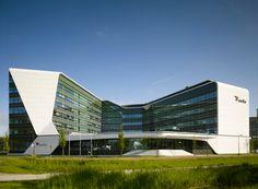Mirai House in Leiden Bio Science Park by UNStudio