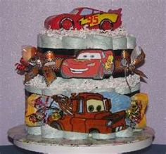baby shower cake Cars