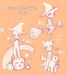 [YCH] HALLOWEEN YCH - open! by REYAchan