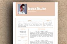 The Lauren Resume Pack by LeResume on Creative Market