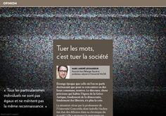 Tuer les mots, c'est tuer la société - La Presse+ Cards Against Humanity, Stand Up Comedians, Words