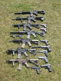 Basic Zombie defense assortment
