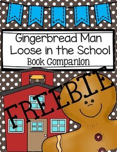 This is a character story map that will go great with the book Gingerbread Man Loose in the School!Get the full product here!