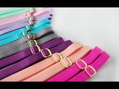 Matchy Matchy - Color Coordinated Bra Straps [expensive, but a cute idea]