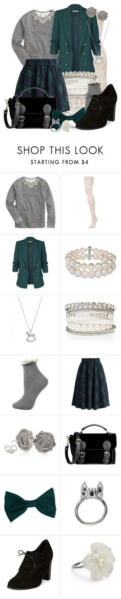 """""""Soundtrack: Fiona [The Haunting of Castle Malloy]"""" by detectiveworkisalwaysinstyle ❤ liked on Polyvore featuring J.Crew, OROBLU, Miadora, Ted Baker, Forever New, Topshop, Chicwish, American Apparel, Disney Couture and Simply Silver"""
