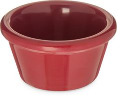 Carlisle 085258 Melamine Smooth Ramekin 2 oz Capacity Roma Red Case of 72 >>> Read more reviews of the product by visiting the link on the image.(This is an Amazon affiliate link and I receive a commission for the sales) #Ramekins