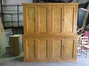 EdwardianPine Housekeepers Cupboard