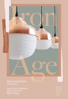 KIMU design The New Old Light Copper family M&O 2015