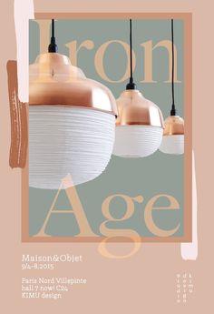 KIMU design The New Old Light Copper family M&O 2015