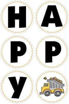 construction birthday party banner...this has free printable invitations, banners...pretty cool