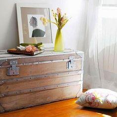 Más ideas para decorar con baúles