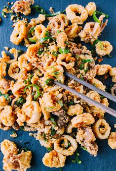 When I perfected the recipe for fried calamari, it was a total no-brainer to make this Cantonese Salt & Pepper Squid. Prepared in a similar manner to Cantonese Salt & Pepper Pork Chops, the fried pieces of calamari are tossed in a mixture of crunchy stir-fried garlic, ginger, and hot green peppers. Traditionally, the squid …