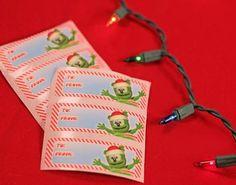 Gummibär (The Gummy Bear) Christmas Gift Tags – Gummibär Shop Shops, Gummy Bears, Christmas Gift Tags, Gift Wrapping, Sweet, Gift Wrapping Paper, Candy, Tents, Gummi Bears