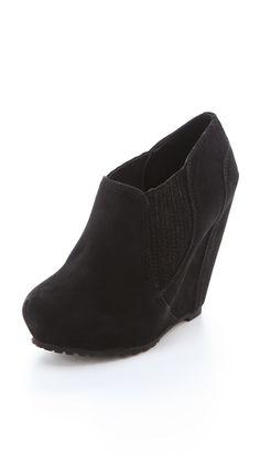 Luxury Rebel Shoes Kera Wedge Booties  shopbop