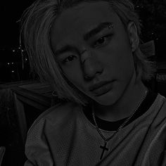 Dark Pictures, Dark Pics, Kpop Gifs, Bad Photos, Kids Icon, Aesthetic Boy, I Like Him, K Idols, Dreadlocks