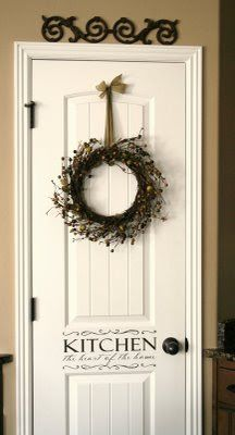 Pantry Door Idea . . . getting closer . . .(the wife says no, ok keep scouring Pinterest)