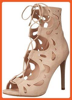 Call It Spring Women's Gwowiel Gladiator Sandal, Beige, 9 B US - Sandals for women (*Amazon Partner-Link)