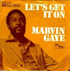 Marvin Gaye, 'Let's Get it On' - 1973 record sleeve