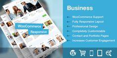 Business v1.0.2  Responsive Corporate WordPress Theme