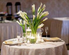 calla lily centerpieces | North Carolina office 704.547.4402 | Michigan office 248.515.5724