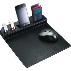 Metropolitan Mouse Pad with Phone Holder                                                                                                                                                                                 More