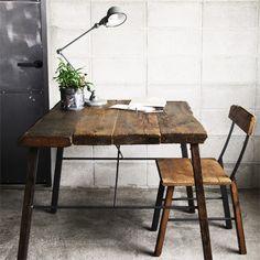 [HACHI] OWI CAFE TABLE - 【HACHI KAGU ONLINE SHOP】オリジナル家具・インテリア雑貨・革小物・観葉植物・ガーデン用品のオンラインショップ