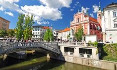 Ljubljana, Slovenia's – and now Europe's – green capital is a laid-back charmer of a city. Easily walkable, it boasts striking architecture and a vibrant outdoor eating and drinking culture
