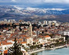 Split, Croatia. A major city that I visited in the region of Dalmatia. Absolutely gorgeous!